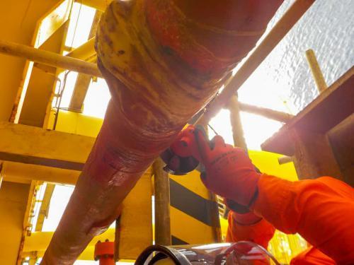 Bertam WHP GRE Repair for Firewater System