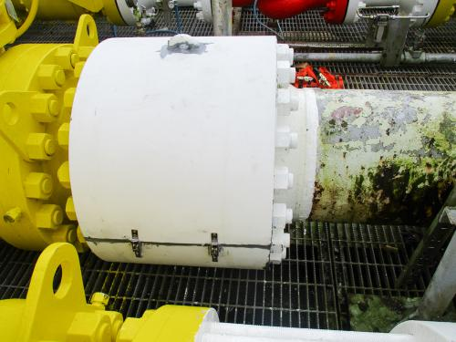 Bintulu - Wafer Type Check Valve's Fire Protection Wrapping