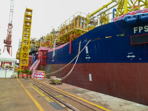 FPSO Berantai Fabrication Works
